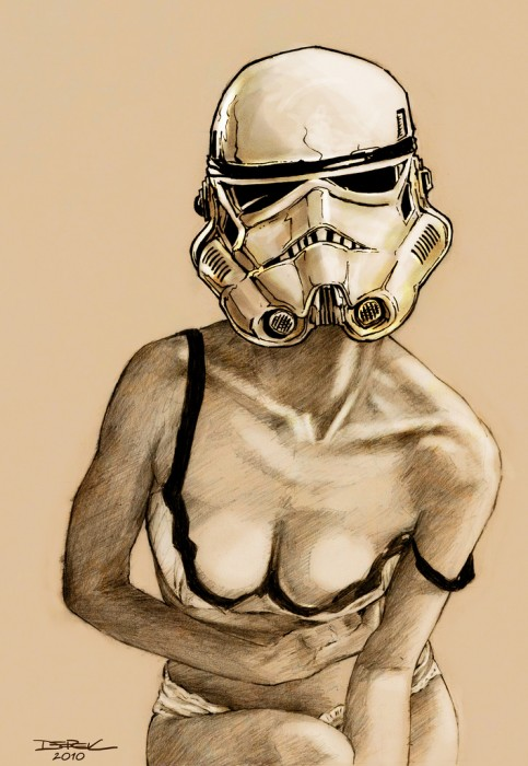 stormtrooper girl