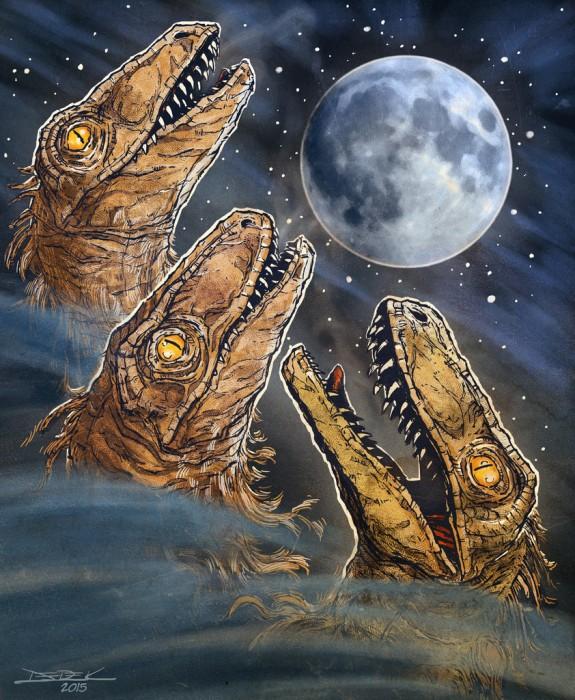 Raptor Moon