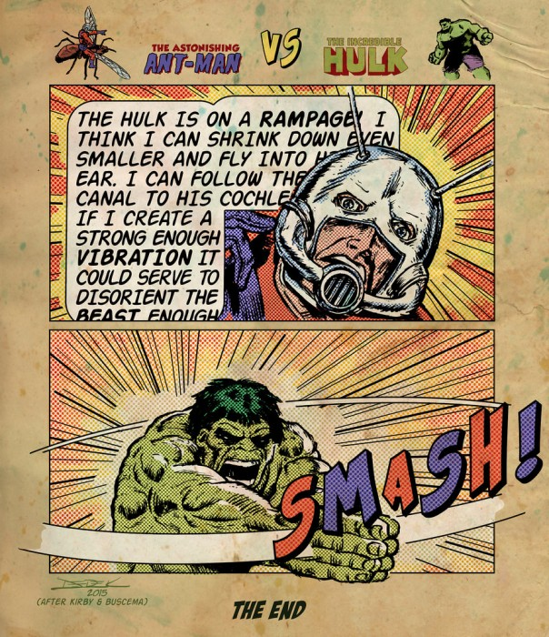 Hulk vs AntMan
